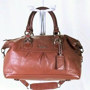 Coach Like New Ashley Madison Leather Shoulder Bag